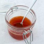Balsamisk æbleeddike (æblebalsamico) lavet på reduktion af æblecider og æblecidereddike
