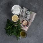 Hummus med persille og skyr