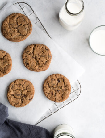 Cookie opskrift med chokolade og spelt
