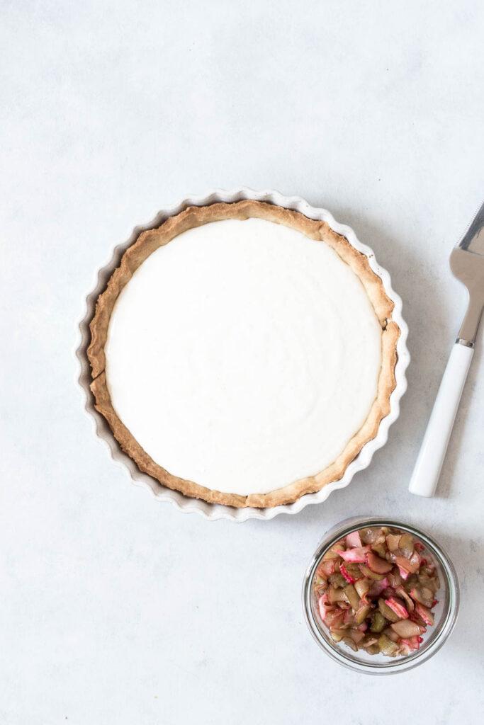 Rabarbertærte - opskrift