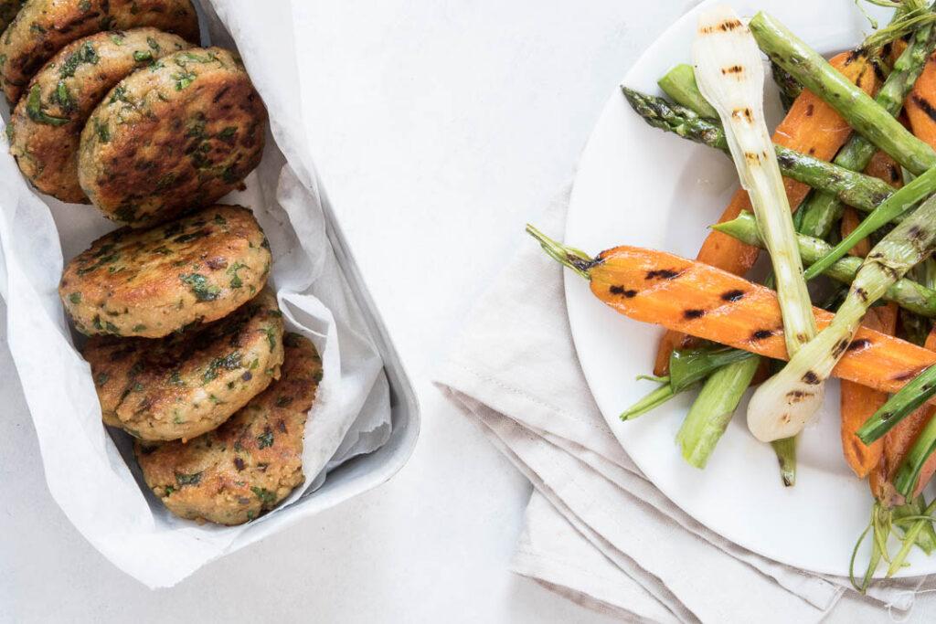 Nem vegetarisk aftensmad - opskrift