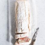Blommekage med flødeskum - opskrift på roulade