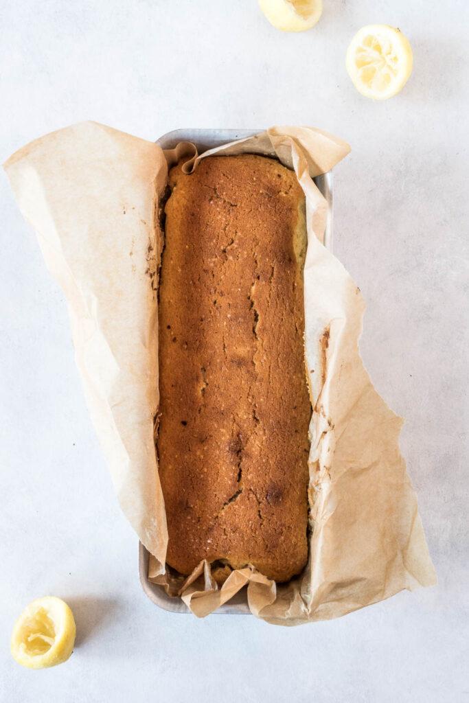 Kage med citron, mangler og vanilje - opskrift