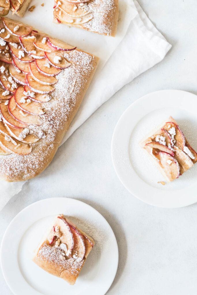 Æblebrød - opskrift på sødt brød med kanel