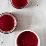 Smoothie med rødbede og bær - opskrift