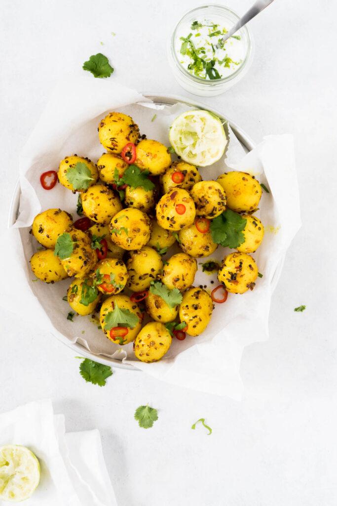 Opskrift på tilbehør til indisk mad