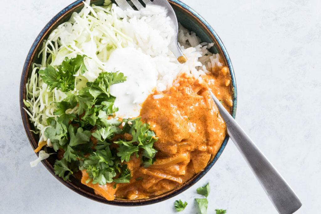 Indisk Tikka Masala med kylling - opskrift